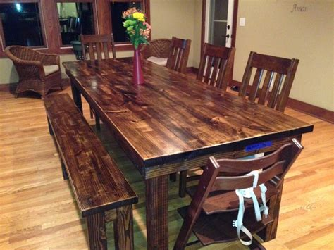 rustic farmhouse dining table rustic farmhouse dining table room