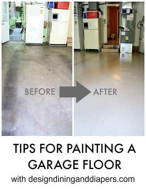 paint  garage floor   pinterest garage