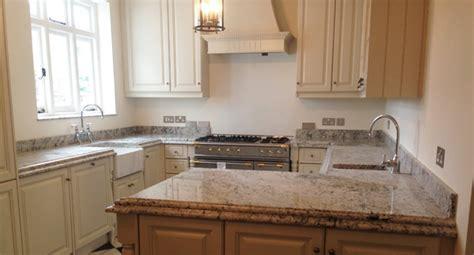 Bianco Romano Granite Kitchen Installation   North London