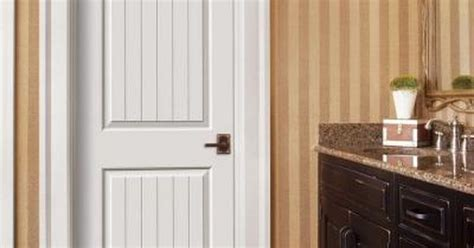 Jeld-wen, Smooth 2-panel Arch Top V-groove Painted Molded