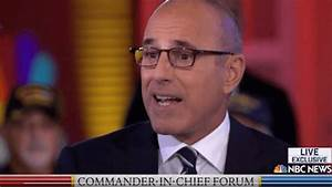 Verdict: Lauer Was Lousy in Moderating NBC 'Commander-in ...