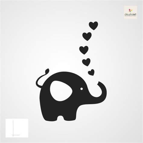 elephant silhouette images  pinterest elephant