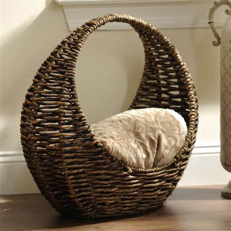 woven crescent basket kid  family  family rooms