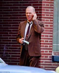 Michael Keaton on set of The Founder as McDonald's Ray ...