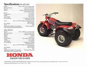 Honda - Atc 110 - 1981