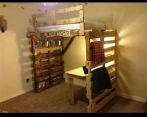 Bett Aus Holzpaletten : 8 etagenbett ideen vollst ndig mit palettenmobel aus ~ Michelbontemps.com Haus und Dekorationen