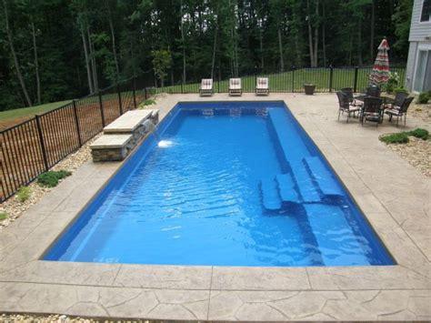 fiberglass pool designs teorema landscaping ideas for pools areas diy