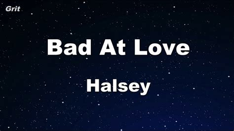 Halsey Karaoke 【no Guide Melody