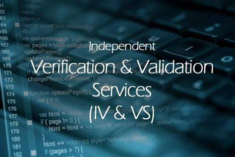 outsource independent verification validation services fws