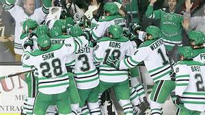 WATCH: UND completes weekend sweep with 3-2 OT win over ...