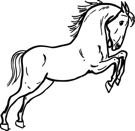printable pictures  horses az coloring pages