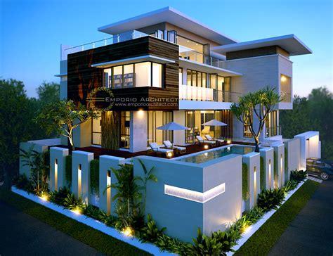 jasa arsitek desain rumah bapak alex modern house plans