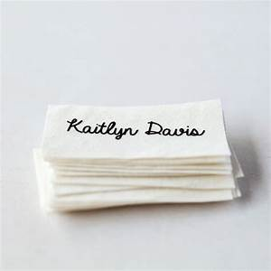 sew on name tags clothing labels white organic cotton With clothing labels for you