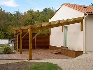 construire une pergola en bois bricobistro With comment construire une maison en bois soi meme