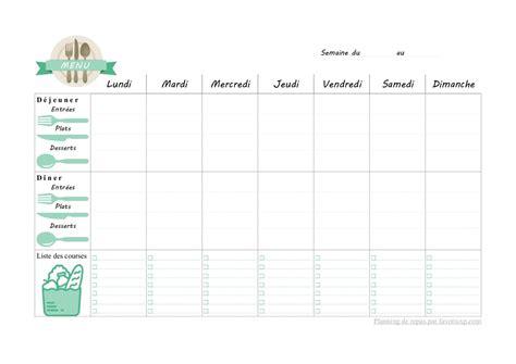 Sur www.e sante des idées de menus. Planning de repas pour la semaine par favorisxp.com par ...