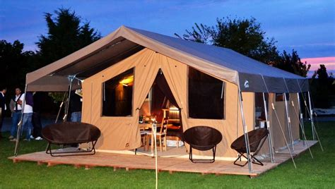 tente lodge safari pour lhotellerie de plein air par cabanon