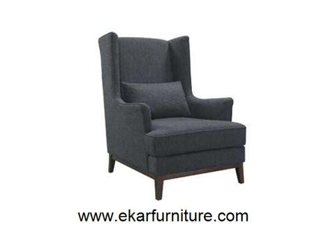 chaise moderne fauteuil 224 oreilles en cuir noir meubles