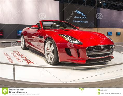 2016 Jaguar F-type Editorial Image. Image Of Convertible