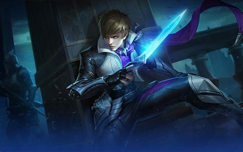 Gusion Holy Blade Heroes Assassin Mage Of