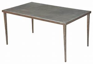 Dimpled metal coffee table contemporary coffee tables for All metal coffee table