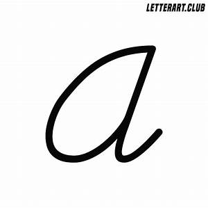 Letter A Clipart - Clipart For Work