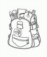 Coloring Supplies Pages Drawing Bags Bag Ruler Worksheets Cartoon Drawings Printables Printable Wuppsy Cute Getdrawings Teens Diy Getcolorings Gifts Crafts sketch template