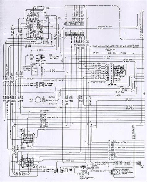 Camaro Fuse Block Interior Wiring Schematic