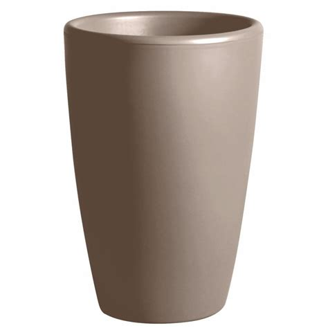 pot de fleur exterieur ikea pot pour fleurs vase int 233 rieur ext 233 rieur d 45 x h 66 5 cm taupe