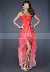 robe de cocktail rouge corail delicate http www With robes corail