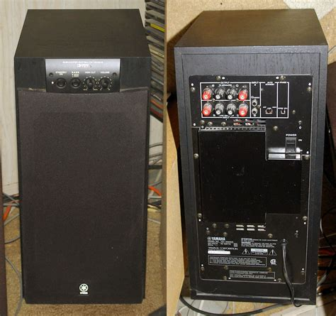 the yamaha yst sw205 powered subwoofer reviewed