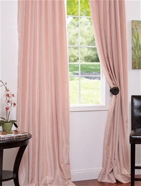 savings on vintage textured faux dupioni silk curtains