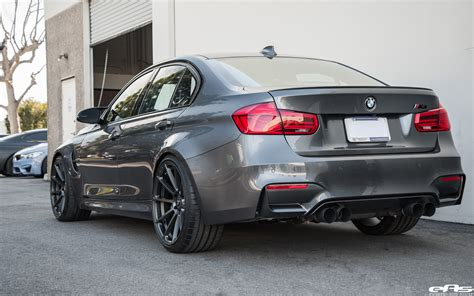 Mineral Gray Bmw M3 Gets Modded