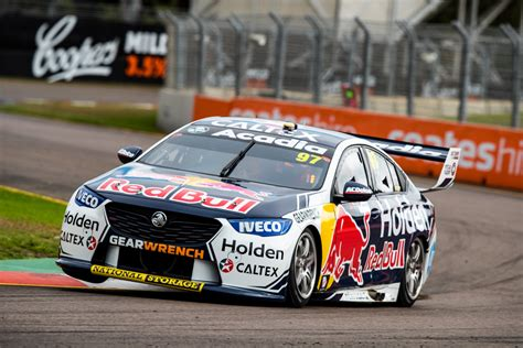 holden supercars deal locks  commodore