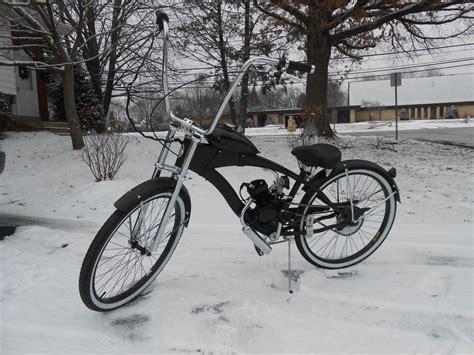 6680cc 2stroke Engine & Lowrider Chopper Bicycle 26
