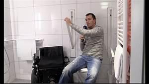 Haltegriff Wc Behindertengerecht : versenkbare haltegriffe wc barrierefrei bad rollstuhl design youtube ~ Yasmunasinghe.com Haus und Dekorationen