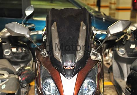 Kymco Xciting 400i Modification by Taiwan Mirrors Fit Kymco Xciting 250 300 400 500 K Xct 400
