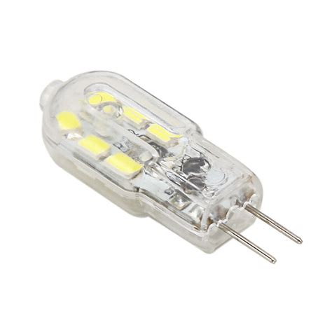 g4 led bulb 1 5w 120lm 12 smd white warm white corn