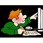 Clipart Researcher Research Missing Documents Cartoon Cliparts