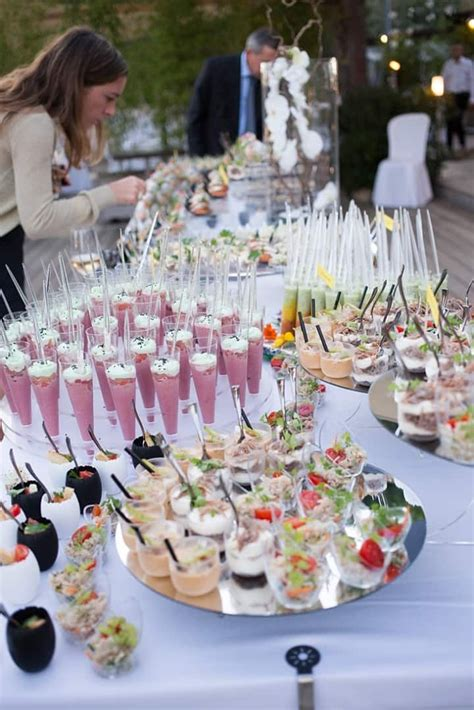 inspirations pour  mariage champetre idee repas