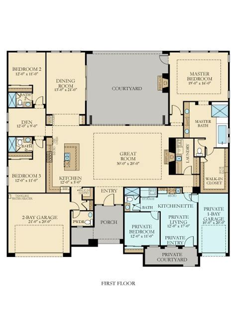 3475 Lennar New Home Plan in Griffin Ranch: Belmont by Lennar