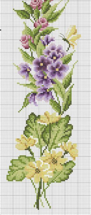 images  cross stitch patterns flowers  pinterest punto de cruz christmas