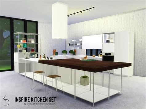 omus inspire kitchen set