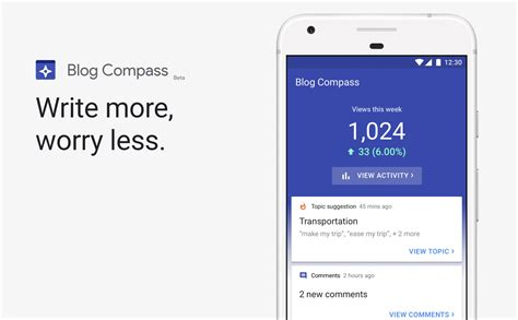 Meet Blog Compass: Google's new app for bloggers - Android ...