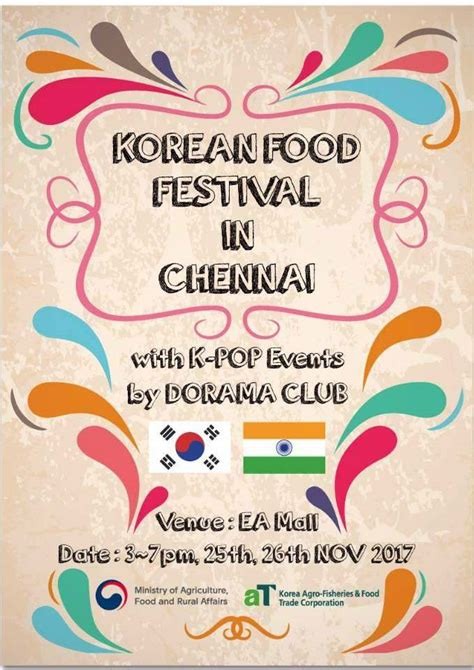 ea cuisine food festival with k pop events by dorama at