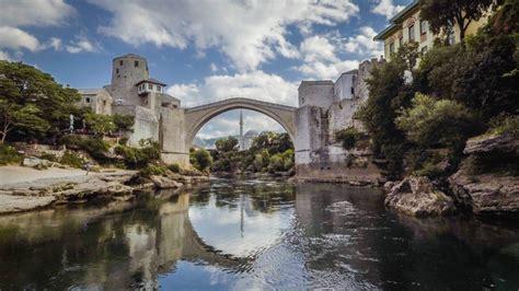Stari Most, 16th Century Bridge, Mostar, Bosnia | Dronestagram