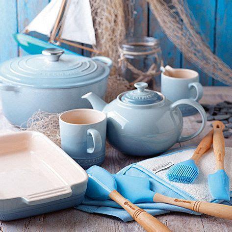 le creuset light blue casserole dish coastal blue collection le creuset kitchenwares