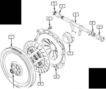 geo tracker clutch assembly manual xmission