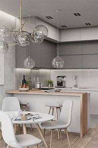 39, Small, Kitchen, Designs, Ideas, With, Cute, And, Stylish