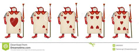 In Card Soldiers Template by Illustration Of Card Soldiers Read Hearts From Ali Stock
