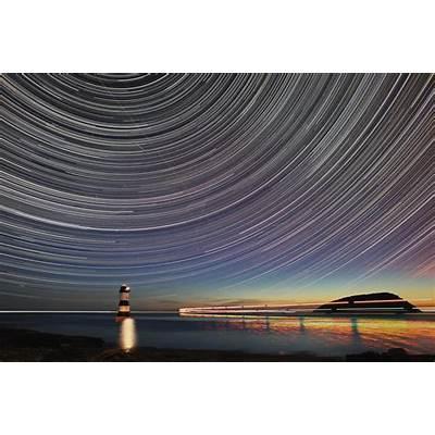 Penmon Point Star Trail final by Photosbykev on DeviantArt